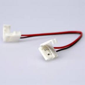 CHL CONECTOR 2 PINES DOBLE TIRAS LED DE 1 COLOR
