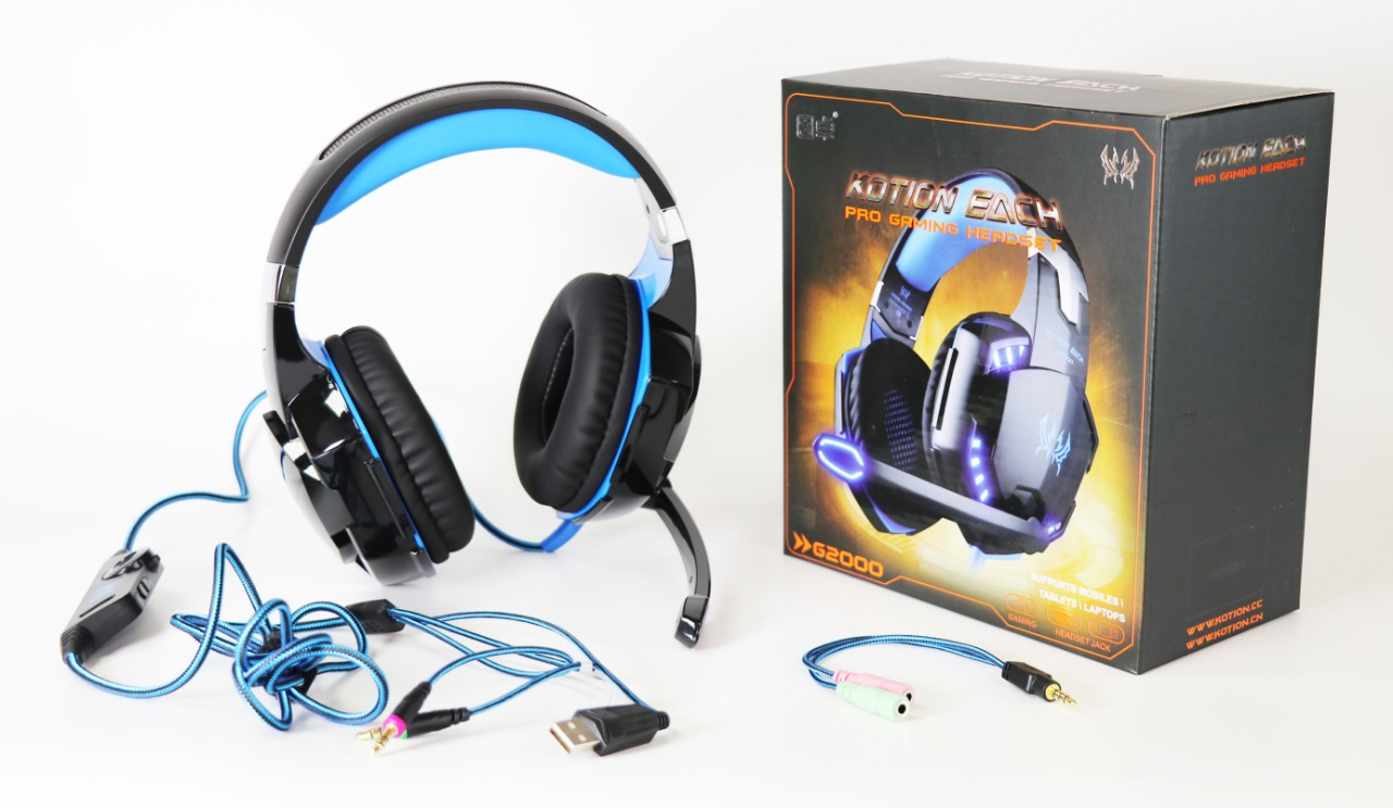 SSIE AURICULAR GAMER PARA PC Y PS4 G2000