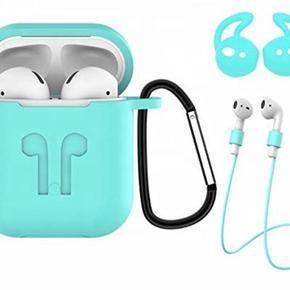 Funda AirPods kit holder llavero correa silicona EarPods